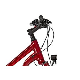 Cube Cross Hybrid Pro Allroad 500 Elcykel Hybrid Trapez röd